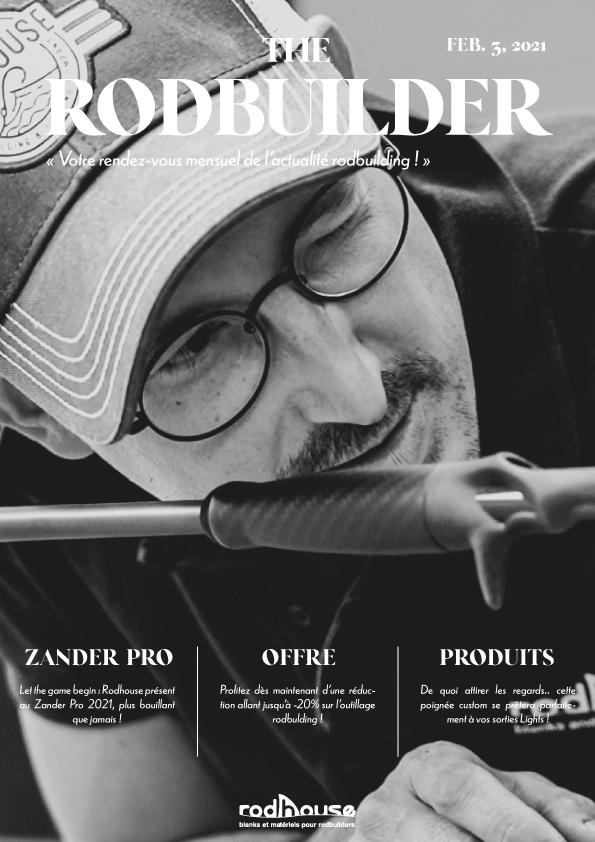couverture de la newsletter de février rodhouse