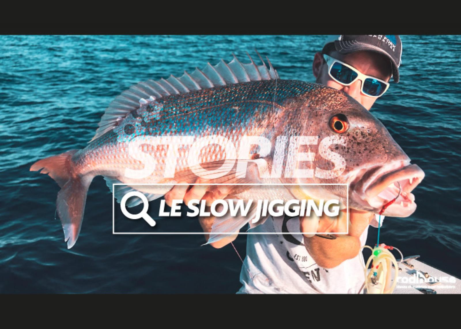 peche d'un poisson en slow jigging