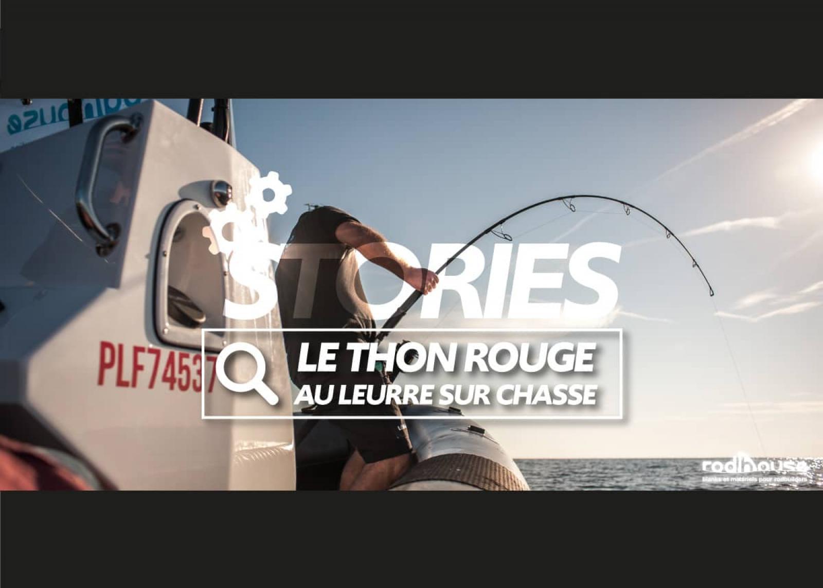 peche d'un thon rouge au leurre sur bateau