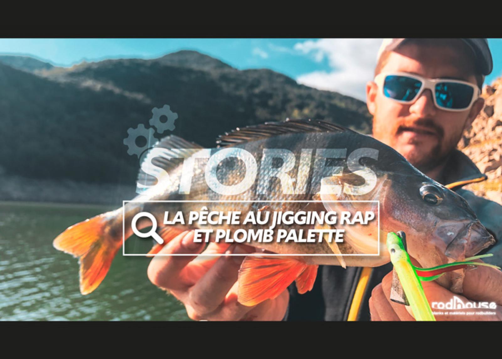 poisson au jigging rap et peche au plomb