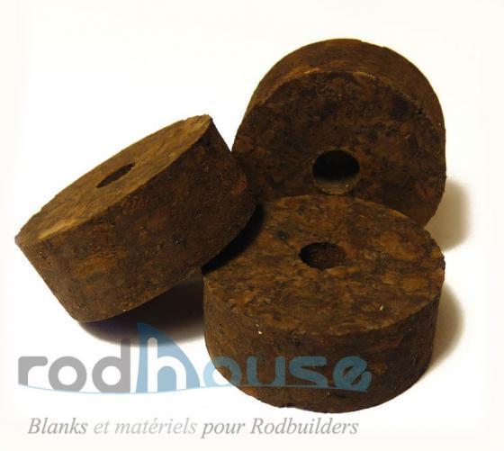 Cork Disc Burl Black