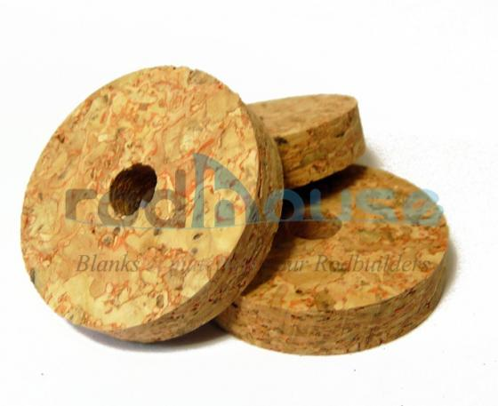 Cork Disc Red 6.35