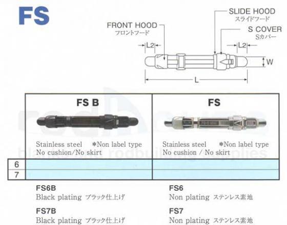 24 mm /& 26 mm Tronixpro Fuji Cut coulissant moulinet en 22 mm