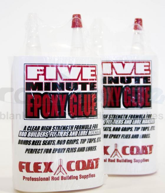 Flexcoat Five Minute Epoxy Glue 4 oz