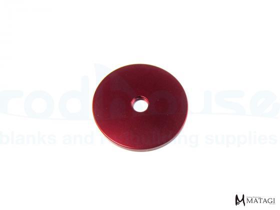 Alu decorative Disc (RED)